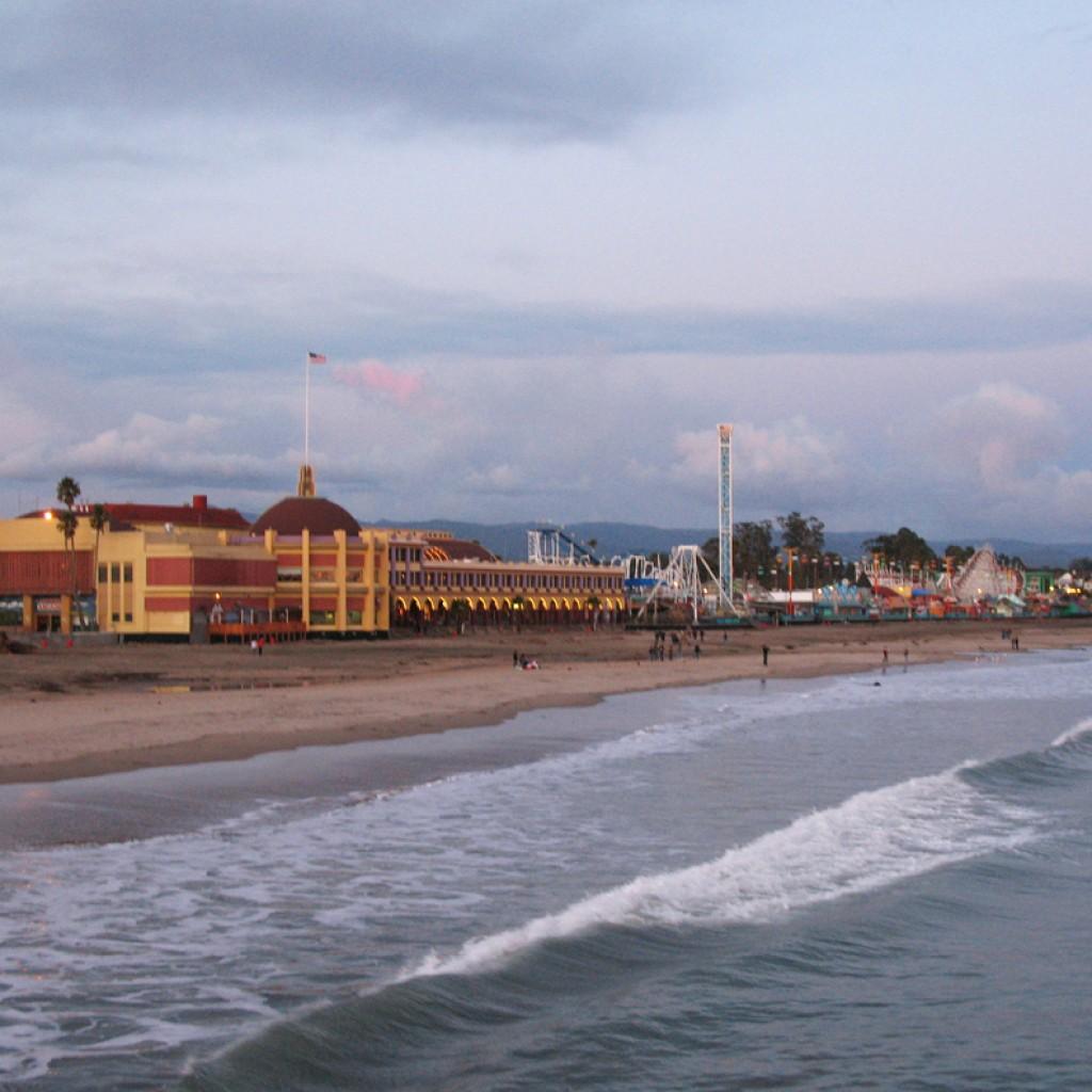 Cloudy Boardwalk