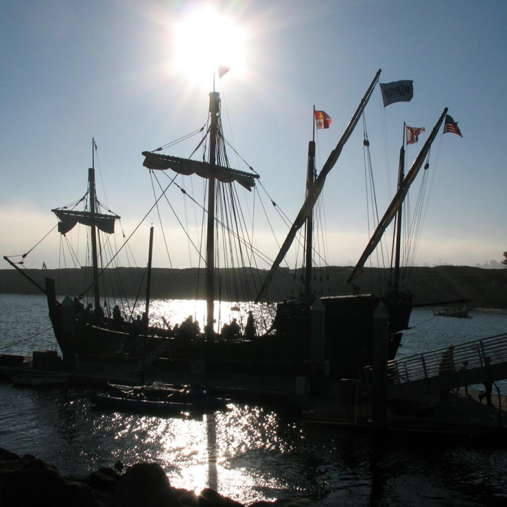 Nina Ship Silhouette