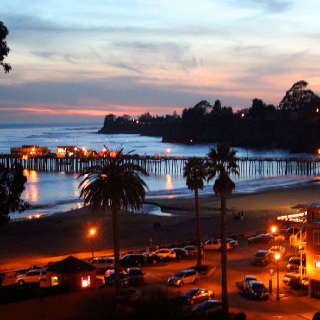 New Capitola at Sunset