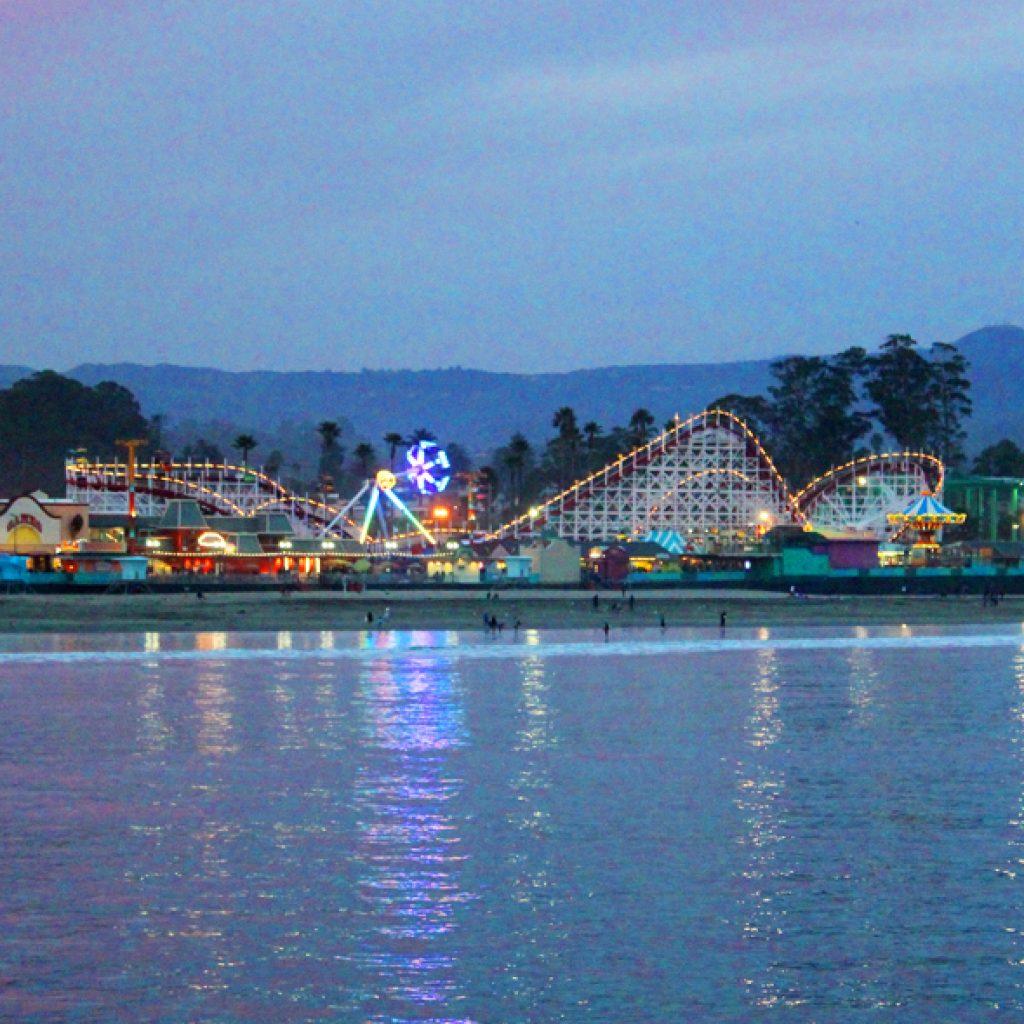 Vertical Evening Roller Coaster